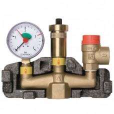"""Група безпеки Afriso KSG maxi (1"""") для систем опалення до 100 кВт"""