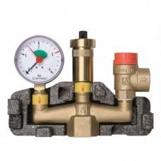 """Група безпеки Afriso KSG (1 """") для систем опалення до 50 кВт"""